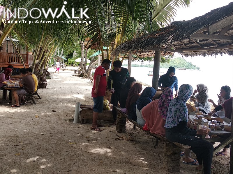 Wisata Lampung Pantai Pahawang
